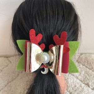 Christmas and New year hair clip